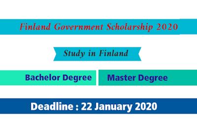 منحة حكومة فنلندا 2020 لدراسة البالوريوس والماجستير
