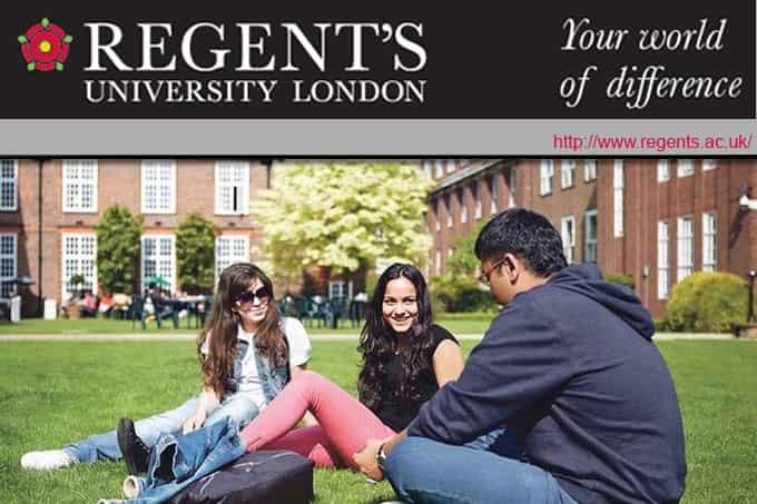 منحة جامعة ريجنت لندن في المملكة المتحدة للحصول على البكالوريوس 2021