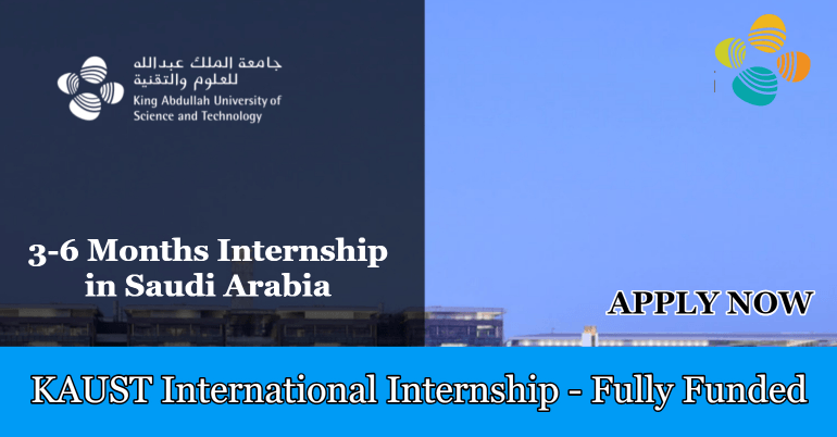 تدريب جامعة الملك عبدالله KAUST في المملكة العربية السعودية (ممول بالكامل)