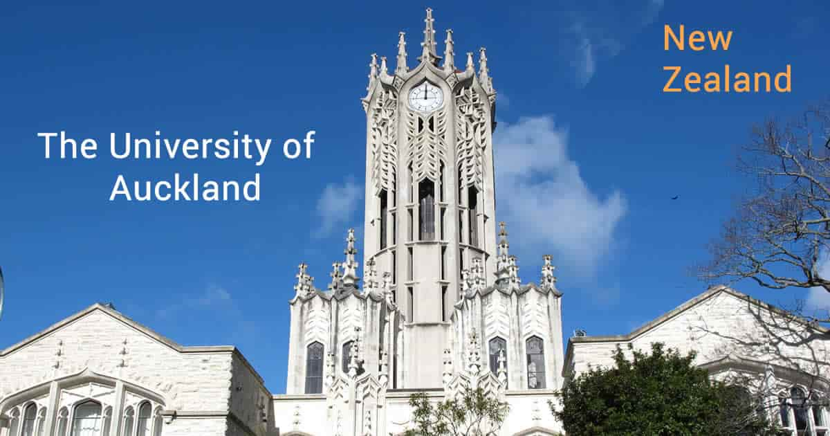 منحة كلية الآداب جامعة أوكلاند لدراسة الماجستير في نيوزلندا 2021